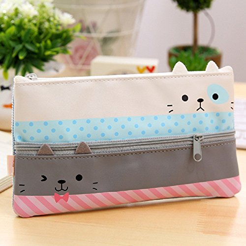 Cute Pencil Cases (Funny live Convenient and Practical Pencil Case, Large Capacity Pen Bag, Creative Learning)