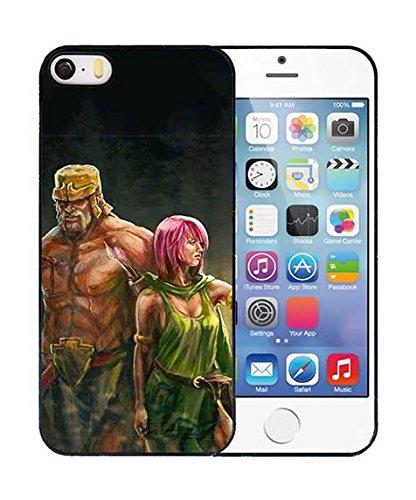Clash Of Clans Custodia Per Iphone 55s Sfondo Azzurro Per Apple