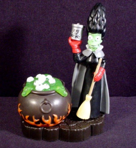 Burger King Simpsons Spooky Light Ups #10 Marge (Witch) -
