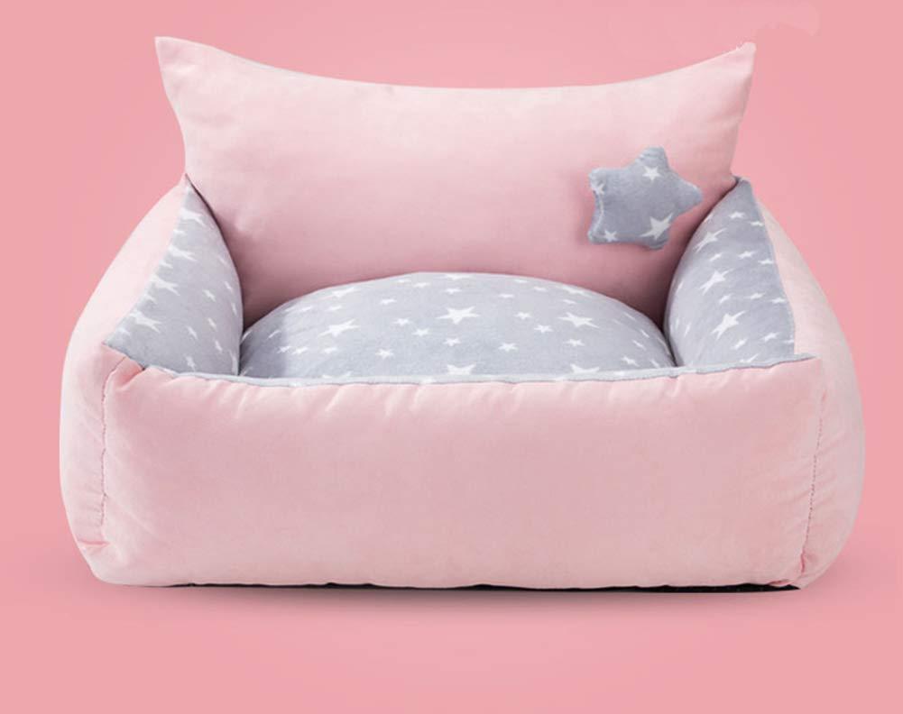 B 423813cmXYDDP Four seasons universal Dog nest,Washable Comfortable Cat nest for Small Medium Large pet bed