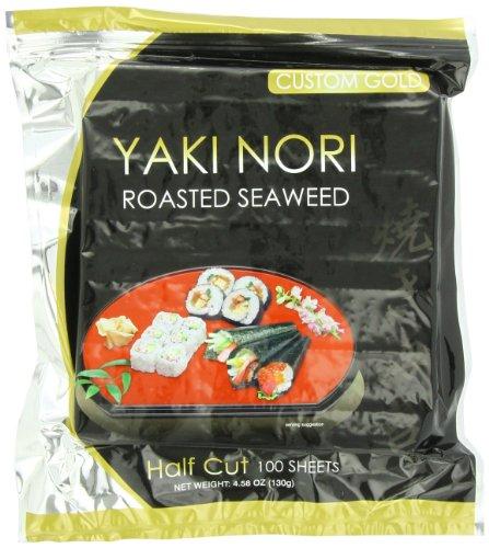 Yaki Nori Custom 100 Count Units