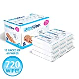 WaterWipes Unscented Baby Wipes, Sensitive and
