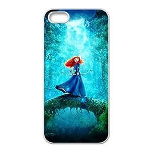 Disneys Brave Iphone 5 5S Cell Phone Case White SEJ6563033066671