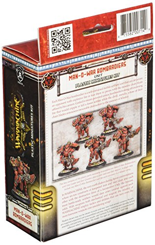 Privateer Press - Warmachine - Khador Man-O-War Bombardiers (Plastic) Model Kit 4