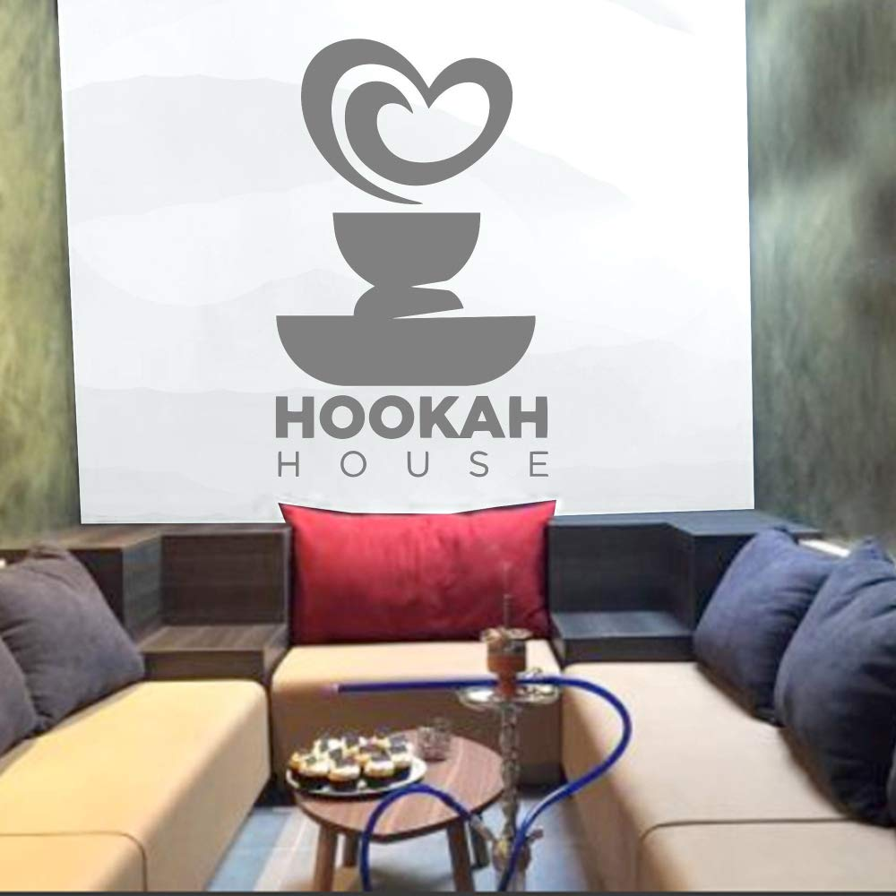yaoxingfu Hookah Lounge Wall Sticker Calcomanías de Pared de ...