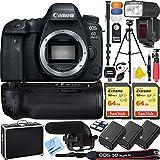 Canon EOS 6D Mark II 26.2MP Full-Frame Digital SLR Camera (Body...
