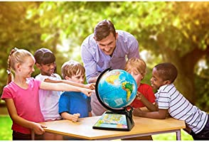 English Or Spanish SG268RK SG268R Fun Educational Games World Geography Stem Approved Oregon Scientific Smart Globe Adventure 2.0 Augmented Reality