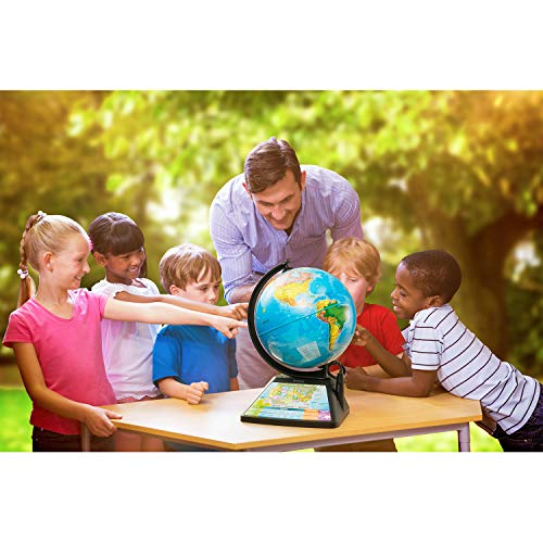 Oregon Scientific SG268R-K Smart Globe Adventure AR World Geography Educational Games For Kids - Learning Toy, 4000+ Fun facts, 220+ Countries to Explore, 25 Games to Play by Oregon Scientific (Image #4)