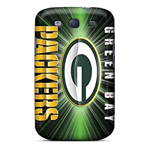 Best Cell-phone Hard Cover For Samsung Galaxy S3 (AhK12789WNFN) Support Personal Customs Colorful Green Bay Packers Image