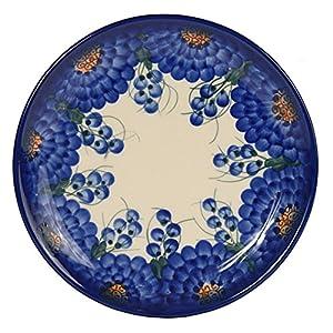 Traditional Polish Pottery, Handcrafted Ceramic Dessert Plate 19cm, Boleslawiec Style Pattern, T.102.Arts