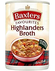Baxters Favourites Highlanders Beef Broth Soup 400g - Pack of 2