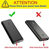 Khanka Hard Case For Anker PowerCore II 20100 Speed Quick Charge 3.0 20100mAh Portable Charger External Battery Power Bank