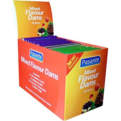 Pasante Mixed Flavour Dams (36 Lecktücher)