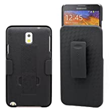 Aduro Shell Holster Combo Case for Samsung Galaxy NOTE 3 with Kick-Stand & Belt Clip (AT&T, Verizon, T-Mobile, US Cellular & Sprint)