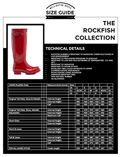 6 Impermeabile Knee Boots Rockfish Lacey Wellies amp; Country Equestrian 7 4 5 Taglia Nero 3 Equitazione Ladies High Completamente Tall 8 Festival Handmade Long Outdoor Womens Durable Wellington nz0SHz