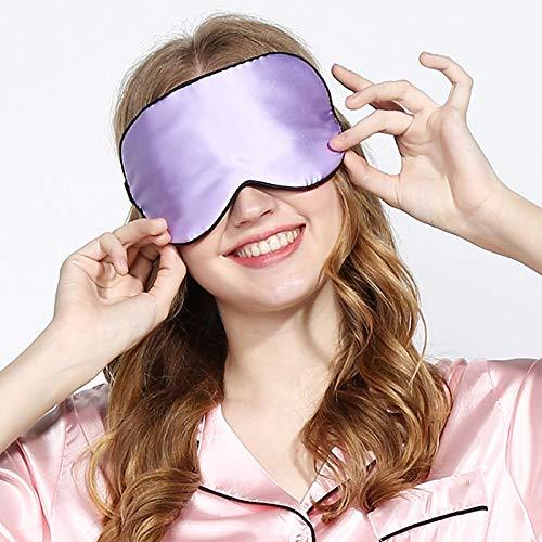 LingStore Natural Silk Soft Smooth Eye Cover Sleep Mask No Smell Zero Pressure Eyeshade Blindfold Travel Sleeping Length Adjustable