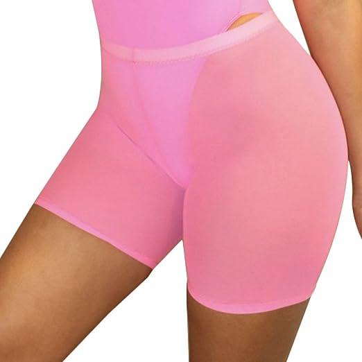 ea8b43210750d8 Tianzek Women See Through Mesh Sheer Swim Shorts Pants Bikini Bottom Cover  up at Amazon Women's Clothing store: