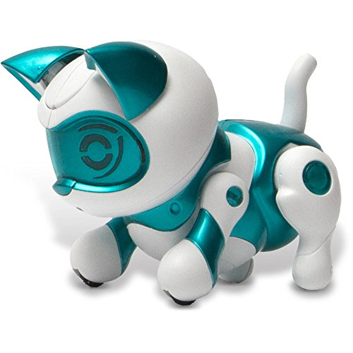 Tekno Newborns Pet Robot Cat, Teal