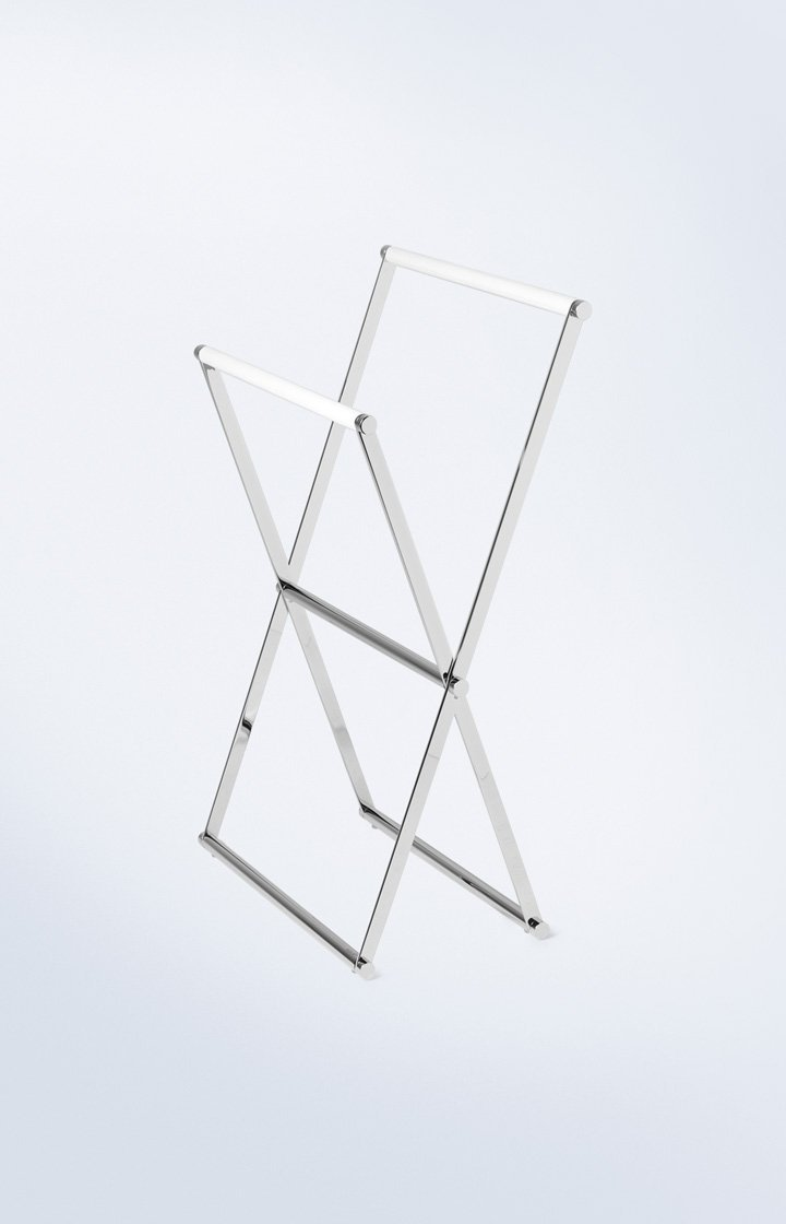 JOOP  Handtuchständer Weiß Chromeline 57,5x95x82 cm