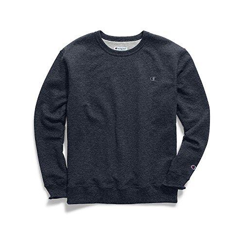blend Fleece Pullover Sweatshirt, Navy Heather, X Large ()