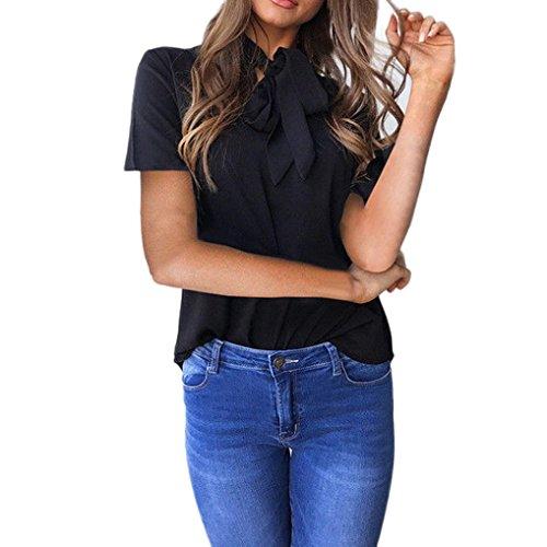 Damen Tunika Tops Sommer Kurzarm T-Shirt Oansatz T-Shirt Shirt Tops Sommer Bluse Boho R/üschen Shirts Schmetterlings-/Ärmel Unregelm/ä/ßig Basic T-Shirt Tops Kurzarm