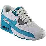 NIKE Youth Air Max 90 Leather Trainers