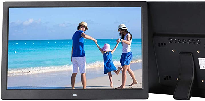 Inkach Digital Photo Frames with Motion Sensor 7 inch High-Definition Widescreen LCD Digital Picture Frame HD Video Player Photos Slideshows