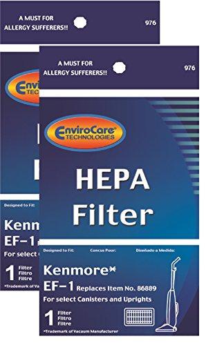 2 Kenmore HEPA Filter #86889