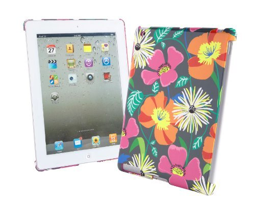 Vera Bradley Snap On Case for iPad Jazzy Blooms