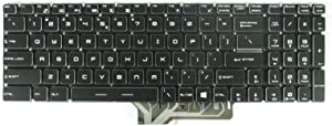 New Keyboard for MSI GS60 GS70 WS60 GE62 GP62 GS72 GE72 GT72 2QD 2QE 2QF 6QD MS-16J1 MS-16J2 MS-1781 with Backlit US