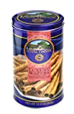 Royal Dansk Chocolate Luxury Wafers, 12.3 Ounce Tins (Pack of 4)