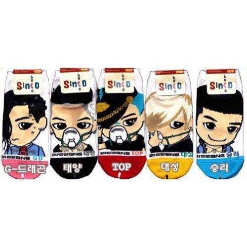 Big Bang Kpop Socks (SEND FROM USA)