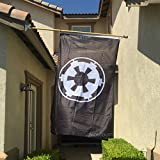 Galactic Empire Flag Black 3′ x 5′ For Sale