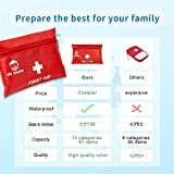 Small Travel First Aid Kit - 87 Piece