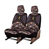 Browning Camo Seat Cover | Low Back | Break-Up | 2 Pack