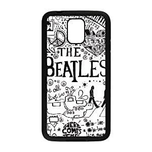 samsung galaxy s5 case(TPU), the beatles Cell phone case Black for samsung galaxy s5 - HHKL3327572