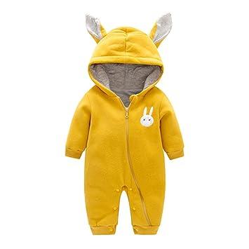 83096fe10 Toddler Girls Boys Romper with Hood - Mxssi Newborn Baby Animal ...