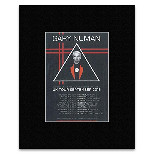 Gary Numan - UK Tour September 2016 Mini Poster