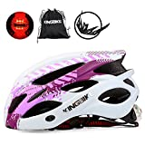 KINGBIKE Bicycle Helmet Bike Cycling Helmets Road MTB Specialized Adult Helmts for Mountain Men Women Girls Ladies with...