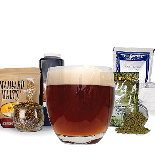 Scottish Beer (Scottish Wee Heavy Strong Ale Malt Extract Homebrew Beer Brewing Recipe Kit For Making 5 Gallon Homemade Brew)