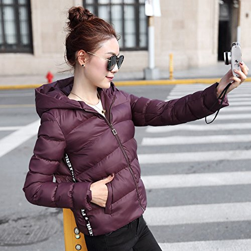 And Thin Cap Girl dates Small Jacket Xuanku Women Coat Cotton Short Thin Red Winter Cotton Algeria Graphics qPWv4wI