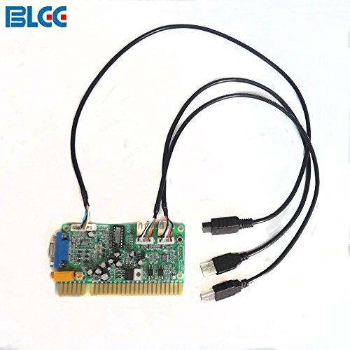 BLEE Coin Operated Games PS3 Timer Board Use the Jamma Button and Joystick for Arcade Game Time Control by BLEE