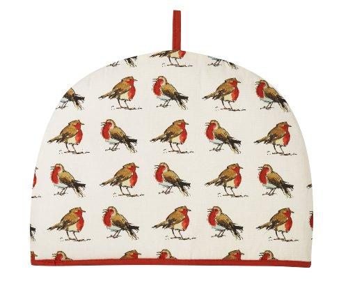(Ulster Weavers Madeleine Floyd Christmas Robins Tea Cosy )