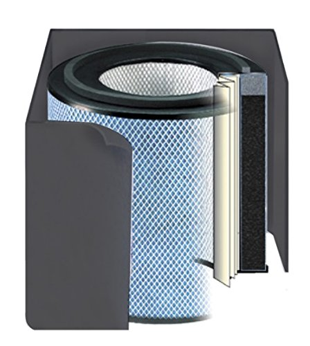 Replacement filter for Austin Air Allergy Machine Jr. Air Purifier - Black Color