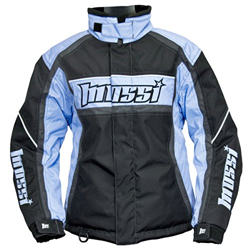 Mossi Lotus Heavy Duty Polyester Ladies Jacket (Blue, Large)