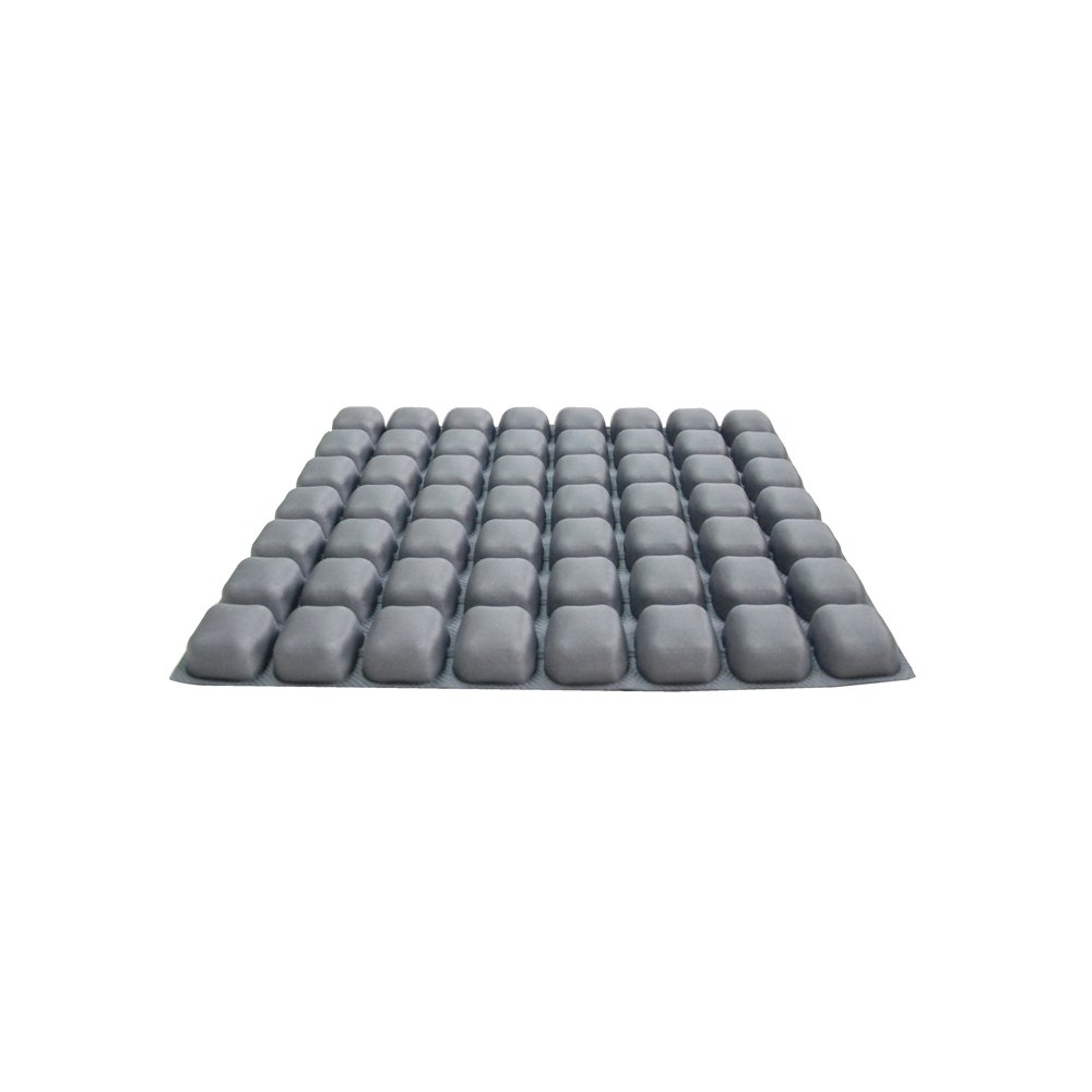 AirCell New Air Comfort Chair Cushion Seat Pad For Office/Home/ Car/School Gray (ACCS56)
