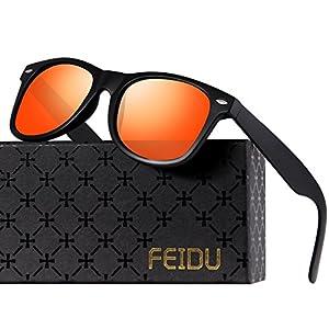 Polarized Sunglasses for Men Retro - FEIDU Polarized Retro Sunglasses for Men FD2149