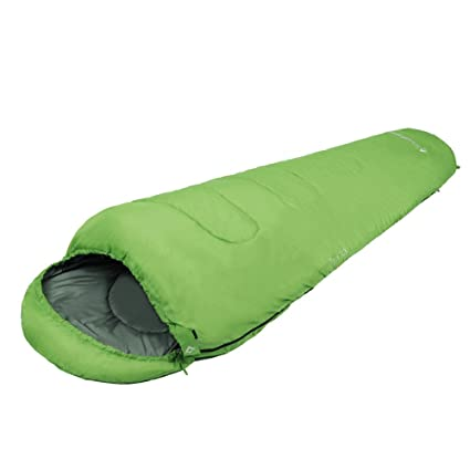 Kingcamp – Saco de dormir momia Treck 250 – relleno de poliéster Warm Loft 250 g