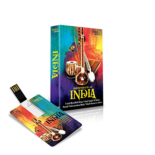 Price comparison product image Instruments of India - Classic Indian Music USB 4 GB Music Card