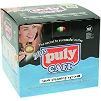 Puly caff kit d'entretien avec baignoire, poudre puly caff puly caff milk, brosse